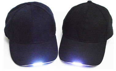 China Depth 32cm LED Light Up Hats 112g Protecting Users From Potential Danger supplier