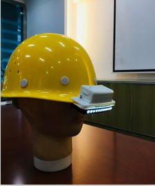 China Switch Mode Bike Helmet Rear Light , Helmet Mounted Bike Light LED Lighting Source supplier
