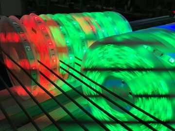 China Waterproof RGB Flexible LED Strip No Ultraviolet Light Bicycle Decoration Lighting supplier