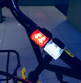 China City Commuting LED Bike Lights Easily Operating With Built In Reed Pipe supplier