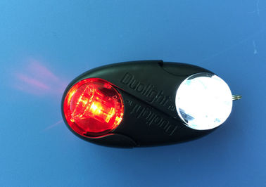 Front And Rear LED Bike Lights Built In Reed Pipe For Outdoor Activities